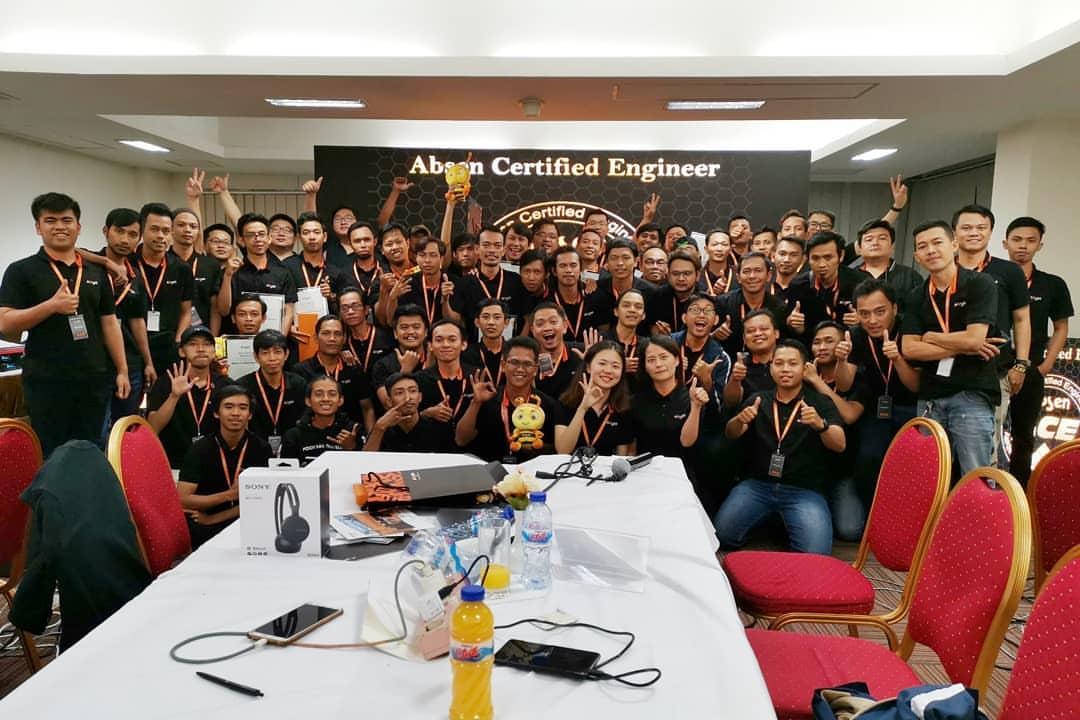 ACE : Absen Certified Engineer | Sertifikasi Teknisi LED Absen