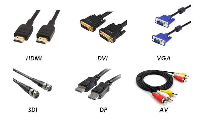 input cable video processor