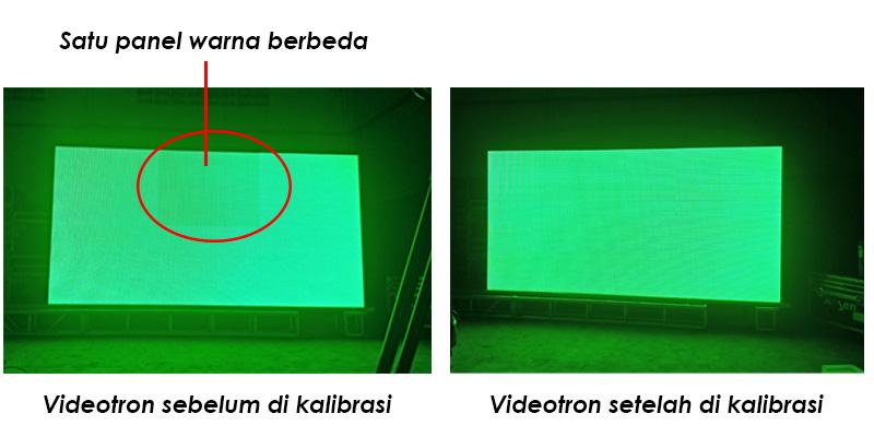Kalibrasi videotron