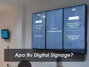 Digital Signage Adalah…| Arti, Fungsi, Jenis, Dan Cara Kerjanya Lengkap