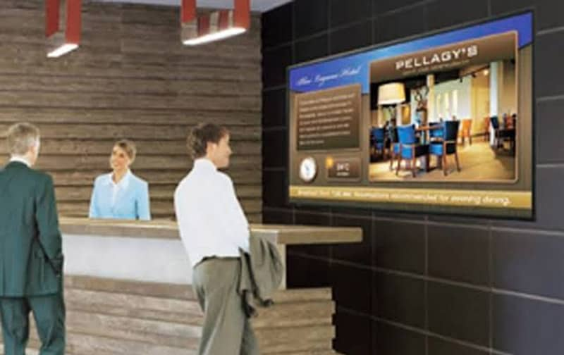 digital signage for corporate communication