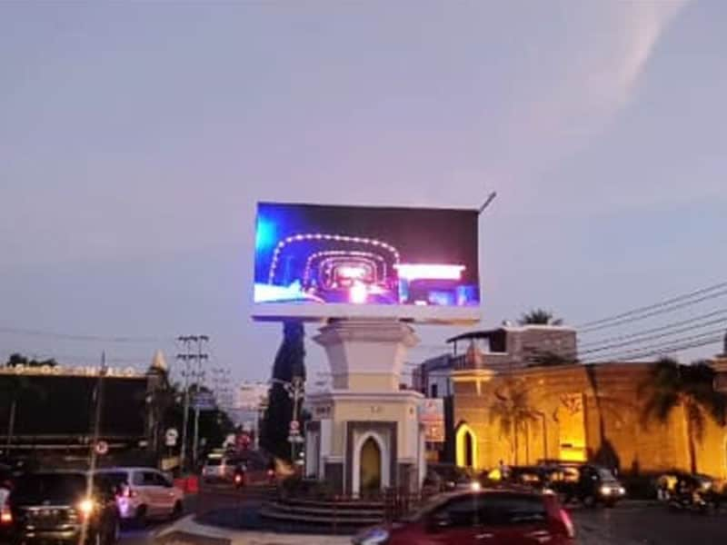 Project Videotron Outdoor Dishub Pemkot Gorontalo