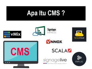 Apa Itu CMS ? Penjelasan Sistem Manajemen Konten