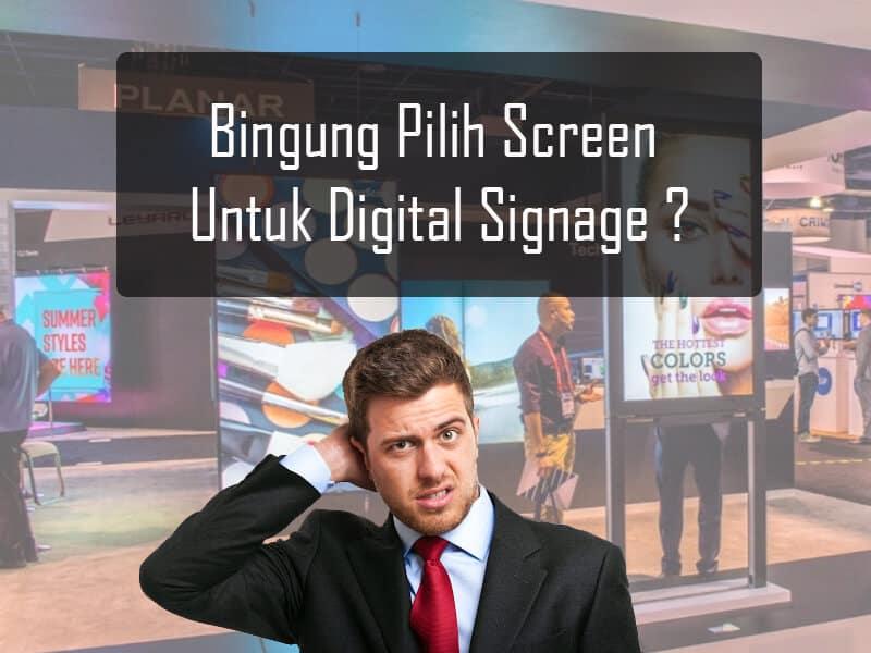 Apakah Bisa Screen Digital Signage Menggunakan TV Biasa?