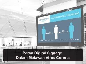 Peran Digital Signage Saat Pandemi Corona