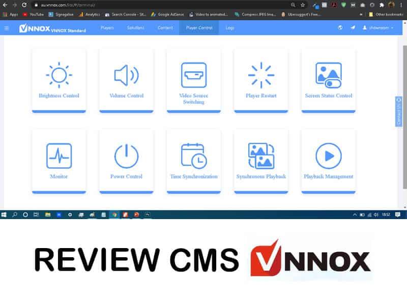 Review CMS Vnnox | Kontrol Videotron Jarak Jauh